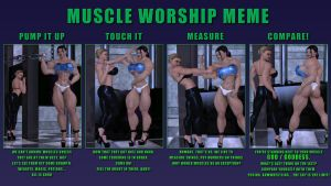Muscle Worship MEME by SuperCDR