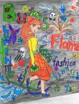 Graffiti Art Fashion by Luckyjinx15
