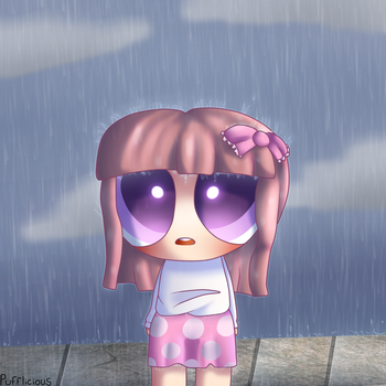 Rainy days by Pufflicious