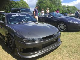 S14 and db9 front by Car-lover33