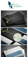 LightGraphic Business Card by tngraphic