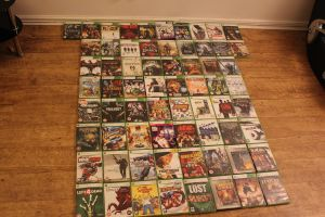 My Xbox collection so far by MrManslaughter
