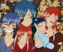 The Himura Clan by XMangetsuX