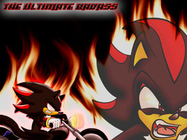 """Ultimate Badass"" Wallpaper :0 by Nomad-The-Hedgehog"