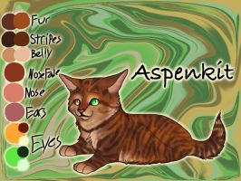 Aspenkit of ShadowClan - Trail of Ashes by Jayie-The-Hufflepuff