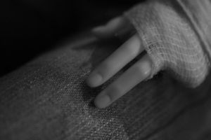 Valery's hand by Poulpydoll