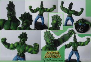 Savage Dragon Heroclix by ReZourceman