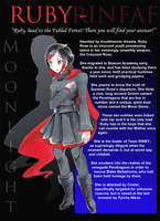Ruby Rose - Moonlight Character Sheet by DeadlyObsession