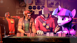 Poker Night: The lost edition. by SourceRabbit