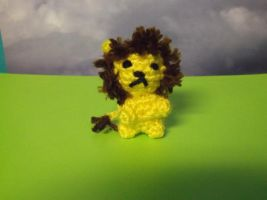 Miniature Lion Amigurumi by ShadowOrder7