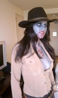 Zombie Cowgirl by AzPowergirl