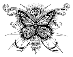 Butterfly Design by LeafWorthy