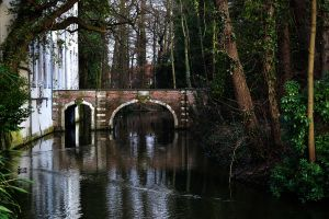 Castle Boeckenberg, bridge by CaryAndFrankArts