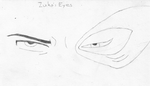 Hand Drawing Of Zuko's Eyes by Levi-Ackerman-Heicho