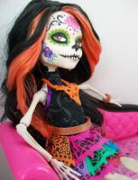 Monster High Skelita Calaveras Custom 2 by AdeCiroDesigns