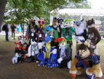 Tracon X: Furries Group Photo by cynderfan35
