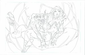 Harley and Ivy 2011 by RadPencils
