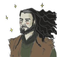Thorin the beautiful by DanArcane