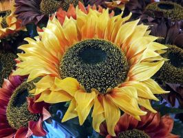 Artificial Sunflower by rdswords