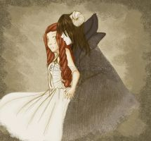 Death God and Bride by ruby-chan