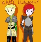 PoP and CW Halloween by AskIce-Princess