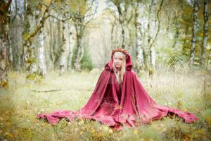 Fairytale Forest Self-Portrait V by MiriamPeuser