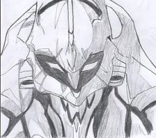 Evangelion Unit 01 by SyntheticFlame