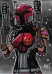 Sabine ACEO sketch card by MasonEasley