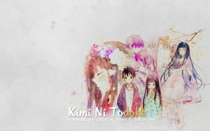 Wallpaper - Kimi Ni Todoke by GabrielaDalBo