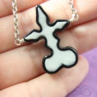 Kingdom Hearts Nobody symbol necklace by TrenoNights