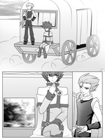 Manga Page Attempt 2 by WatermelonOwl