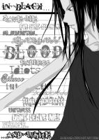 -:In Black... and White:- by LadyZiel