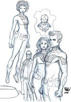 TEEN TEAM by Wieringo