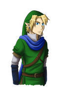 Hyrule Warriors - Link by TsumetaiKaze96