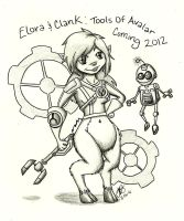 .:CE:. Elora and Clank?? by babybluedreams