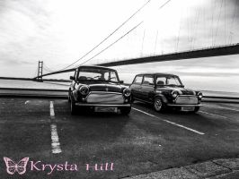 Minis at the humber by Krysta-Hill