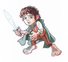 HOBBIT HERO by Jerome-K-Moore