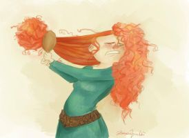 Merida by RazSketch