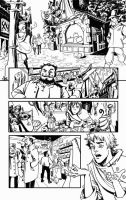 I'm back! A page from ROTM #0 by sumeyyekesgin