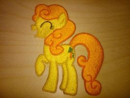 Carrot Top Embroidery by EthePony
