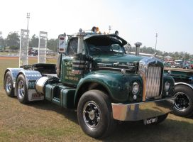 Mack B-model on display 4 by RedtailFox