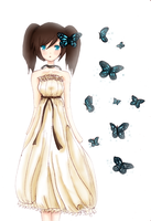 Blue Butterfly by RinRinDaishi