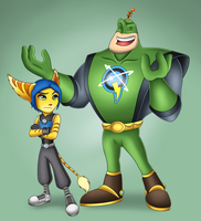 Qwark and Donna by SofieSpangenberg