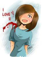 Overly attached girlfriend by teruchan716