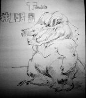 SugoiP: Totodile by Gumbogamer