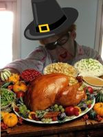 Happy thanksgiving Nathanael the pilgrim by AskSergeantHarris