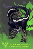 Raptoricons - Slice beast mode by KaijuSamurai
