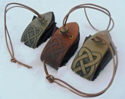 Celtic Purses by Half-Goat