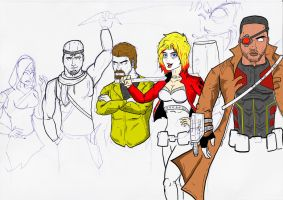 Suicide Squad [Unfinished] by Razanul