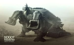 Sogot Heavy Industry Digger by DrawingNightmare